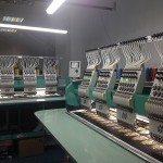 Цех с вышивальными машинами Tajima
