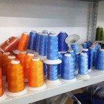 Яркие нитки для машинной вышивки