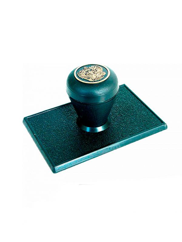 Оснастка для углового штампа 90х60 мм, (ручка «Капля»).