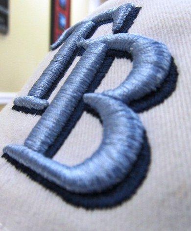 3D объемная машинная вышивка