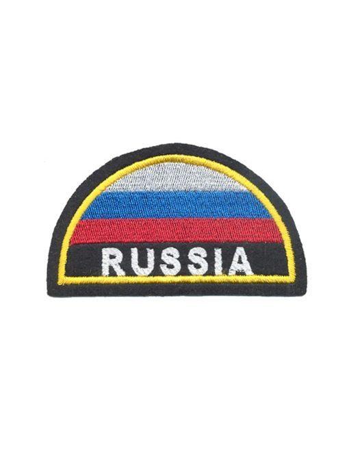 Шеврон-МЧС-Russia-триколор-(вышивка-шелковыми-нитями)