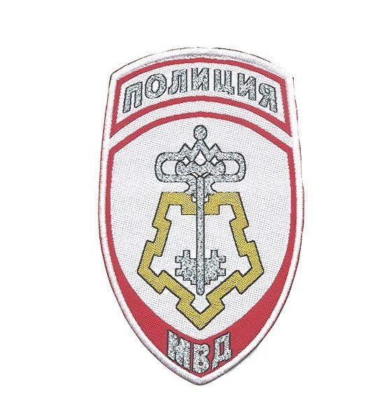 Шеврон-Полиция-Вневедомственная-охрана-белый(жаккардовый)