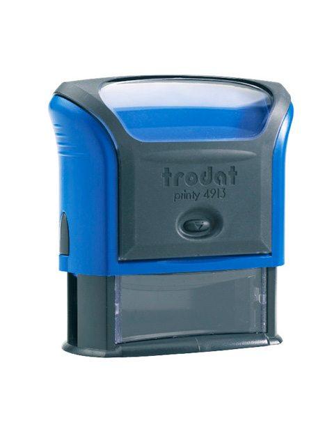 Trodat 4913 Р4 автоматическая оснастка для штампа 58х22 мм, (синий)
