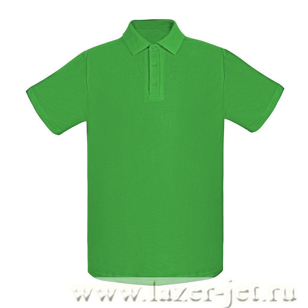 Поло, цвет зеленый