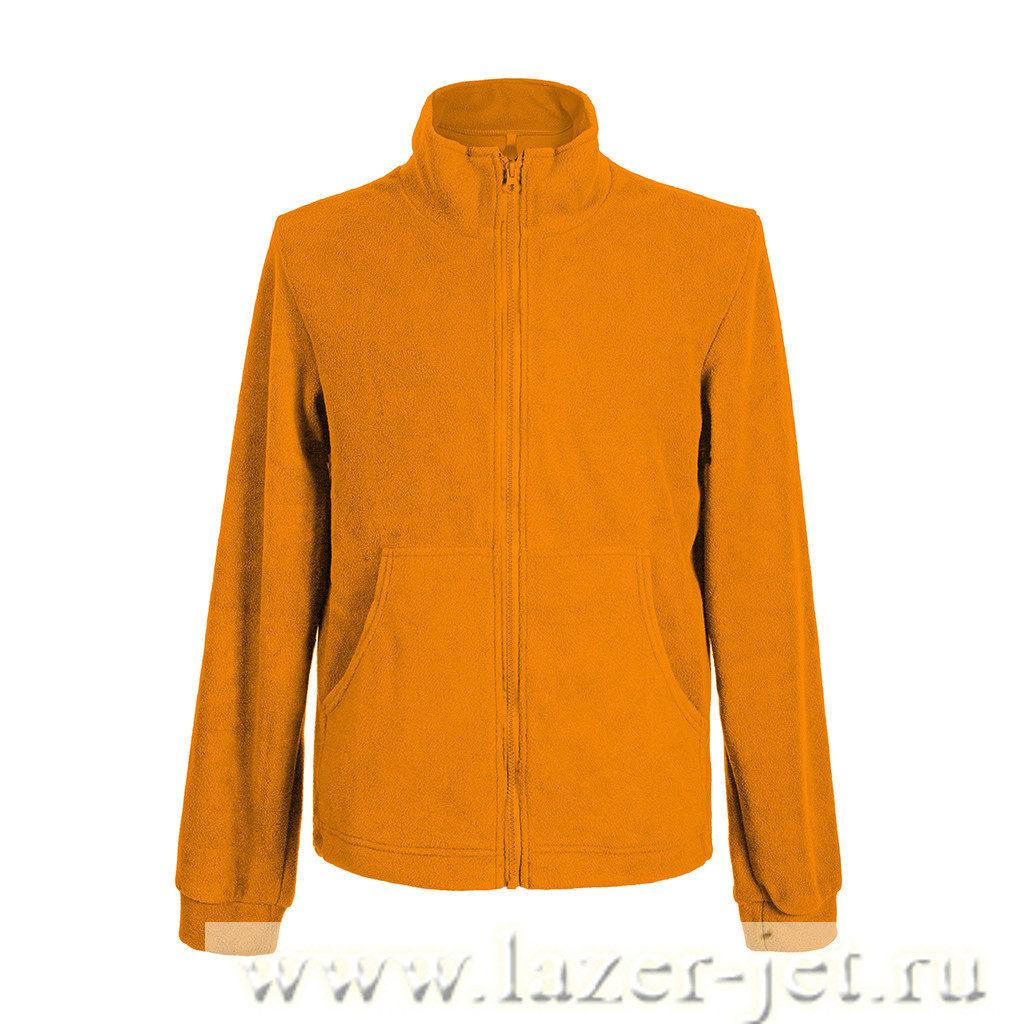 Флиска, цвет оранжевый