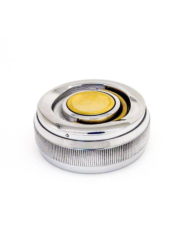 (21а) Оснастка  «Евро-2» d 42 карманная с кнопкой, с латунной вставкой (с штемпельной подушкой).