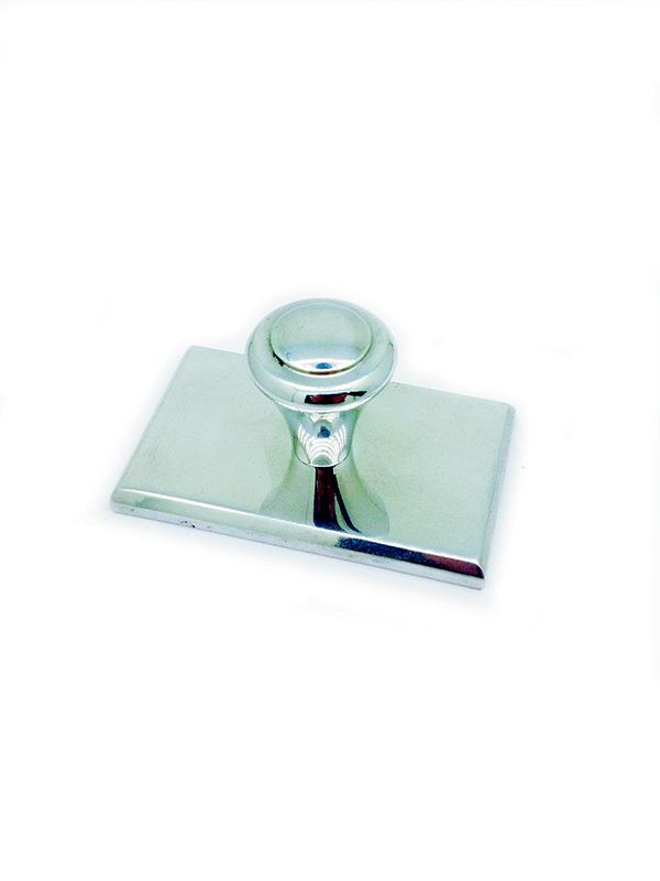 Оснастка для штампа металлическая 70х50 мм Блестящая 8б-1