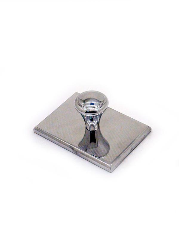 (8б-8) Металлическая оснастка для штампа 43х27 мм.