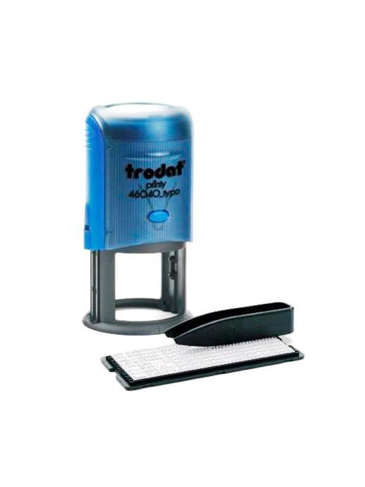 Trodat 46040/R1,5 самонаборная печать полуторокруговая d 40