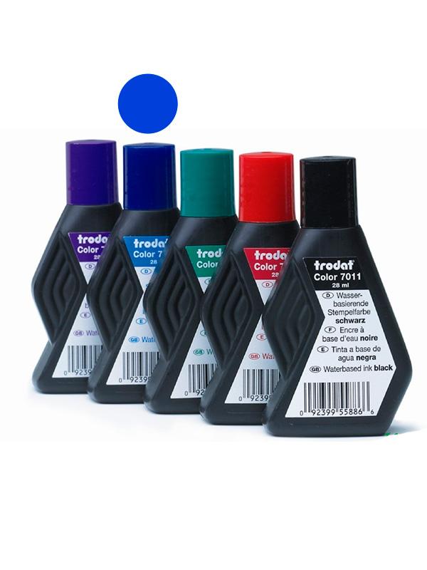 Trodat 110 с штемпельная краска 22 мл (синяя)