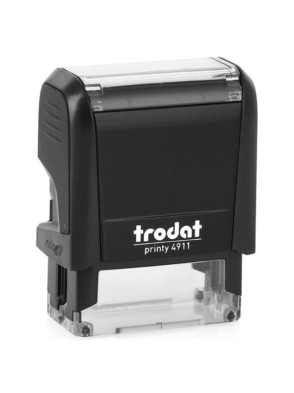 Trodat 4911 Р4 Автоматическая оснастка для штампа 38х14 мм, черный