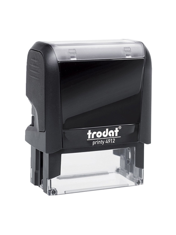 Trodat 4912 Р4 Автоматическая оснастка для штампа 47х18 мм, черный