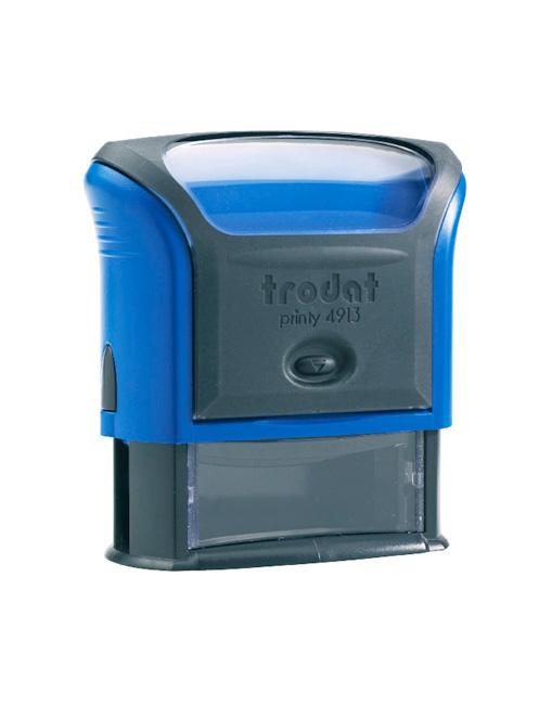 Trodat 4915 Р4 Автоматическая оснастка для штампа 70х25 мм, синий