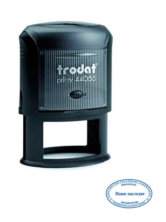 Trodat 44055 Оval автоматическая оснастка для овальной печати 55х35 мм.