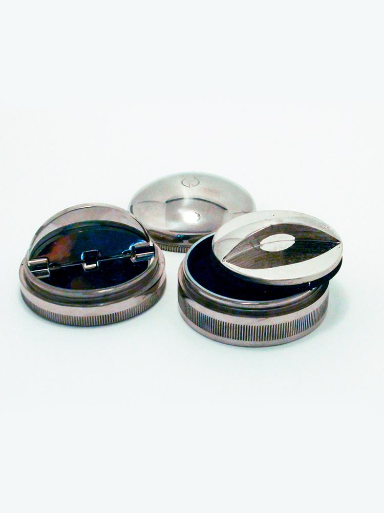 OL-21 040 ND оснастка круглая металлическая «НЛО/ДИСКО» d 40 мм (с 2 подушками).