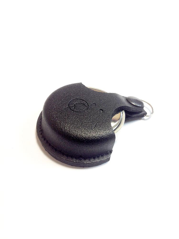OL-21 030 С оснастка круглая металлическая с подушкой, в кожаном чехле «КОМПАКТ» d 30 мм