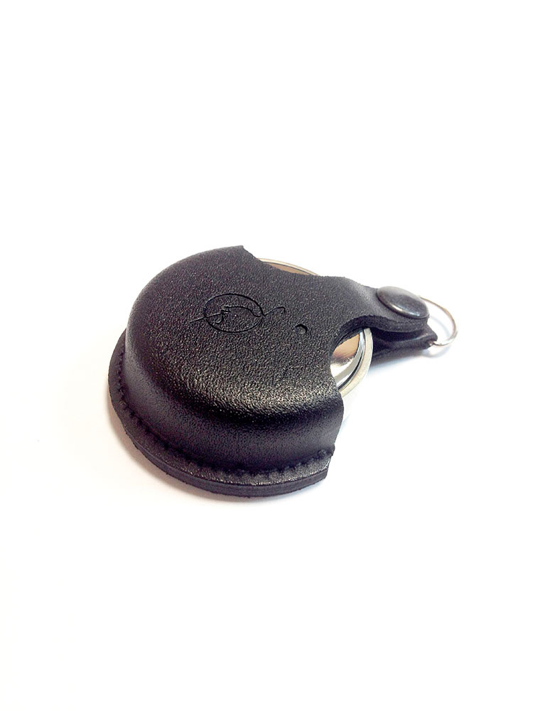 OL-21 040 С оснастка круглая металлическая d 40 мм «КОМПАКТ» (с подушкой) в кожаном чехле.