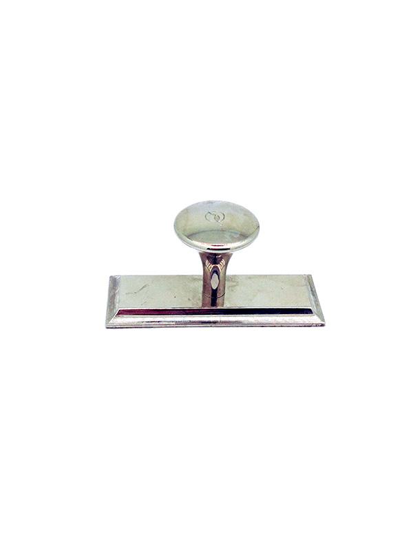 OL-22 045 25 оснастка прямоугольная металлическая 45х25 мм (ручка-стандарт).