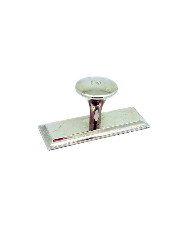 OL-22 060 45 60х45 мм (ручка-«Ретро 40»). Оснастка прямоугольная металлическая.