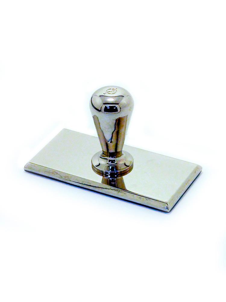 OL-22 100 50 оснастка прямоугольная металлическая 100х50 мм (ручка «Альфа 50»).
