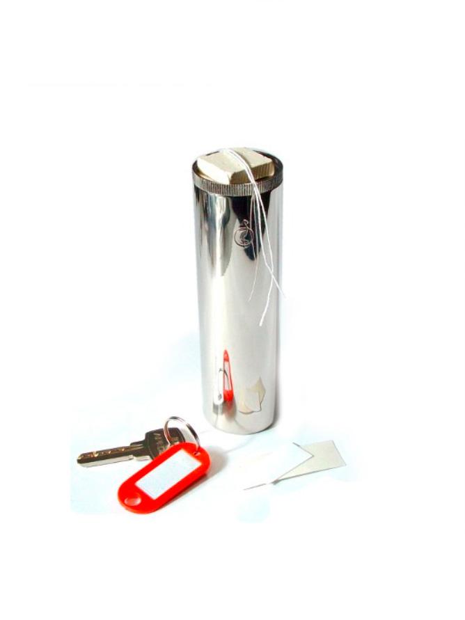 OL-25 032 100 Пенал для опечатывания ключей. Комплект: пенал (d 32мм, h 100мм), пластилин, шнур, 2 наклейки.