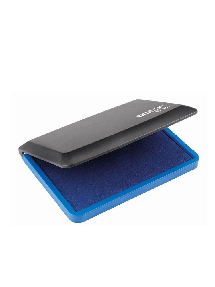 Micro 1 синяя настольная штемпельная подушка 50х90 мм