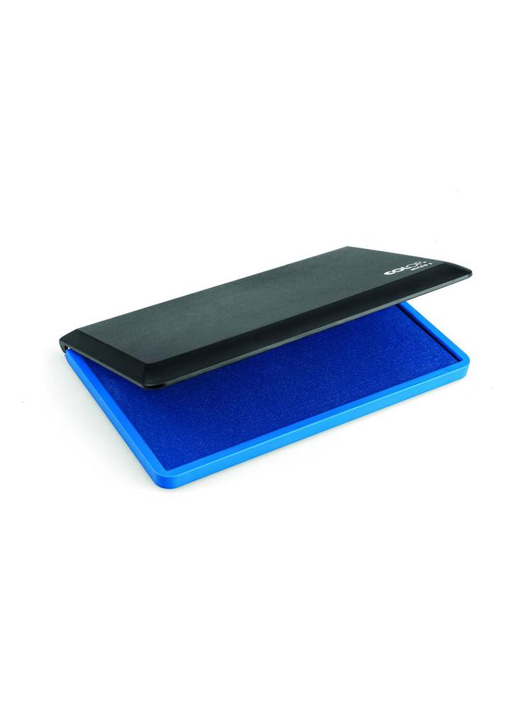 Micro 3 синяя настольная штемпельная подушка 90х160 мм
