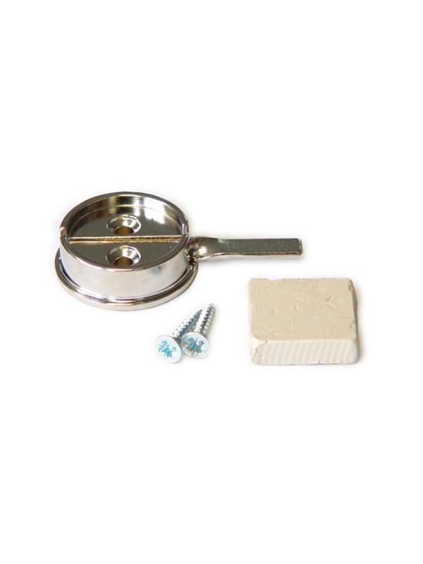 OL-24 027 S1 комплект для опечатывания дверей d27мм/ основание, пластилин, 2 шурупа+шайба