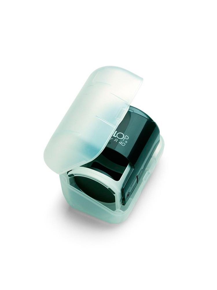 Colop Printer R 40 Box Black оснастка для круглой печати с боксом (черная).
