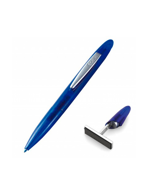 Colop Stamp Writer Case Indigo, ручка со штампом 8х33 мм в кейсе, (индиго).
