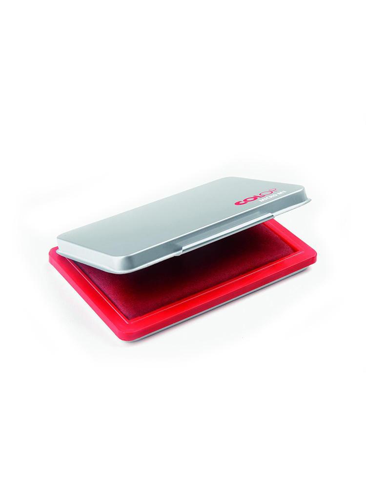 Micro 1 красная настольная штемпельная подушка 50х90 мм