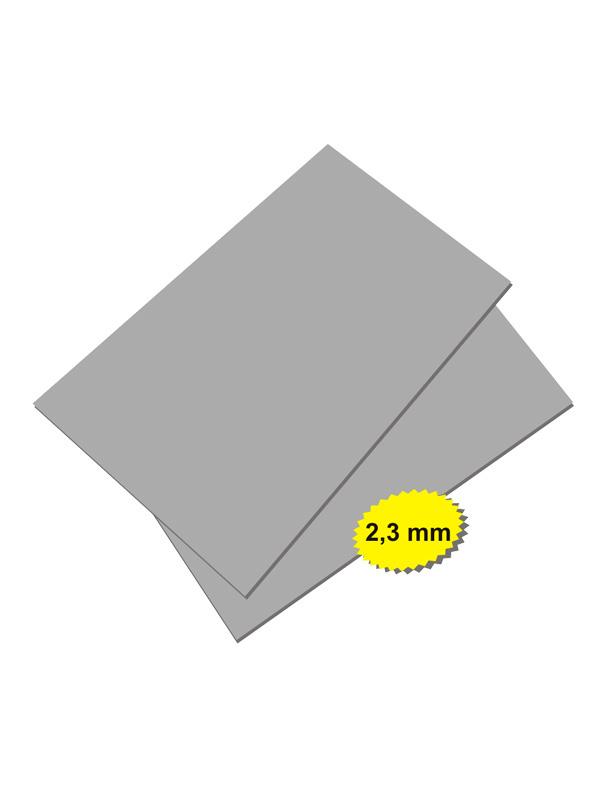 Colop Резина  СЕРАЯ для лазерной гравировки А4, 2,3мм твердость по шору 60