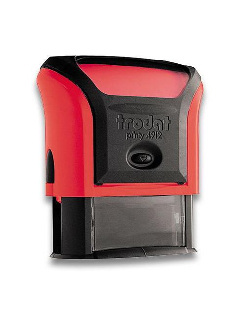 Trodat 4912 Р4 Автоматическая оснастка для штампа 47х18 мм, красный