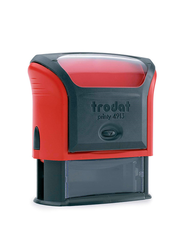 Trodat 4915 Р4 Автоматическая оснастка для штампа 70х25 мм, красный