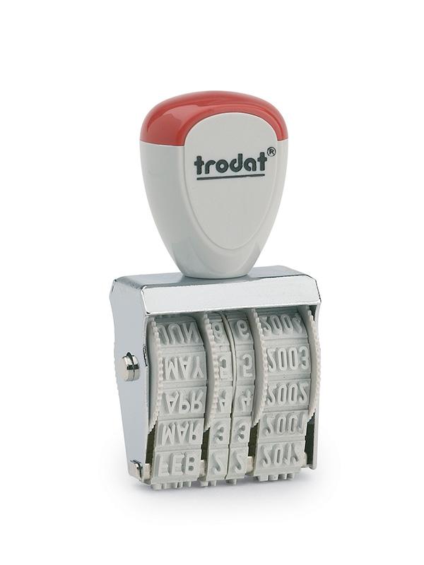 Trodat 1000 (1001L) Ленточный датер, высота шрифта 3 мм, месяц русскими буквами