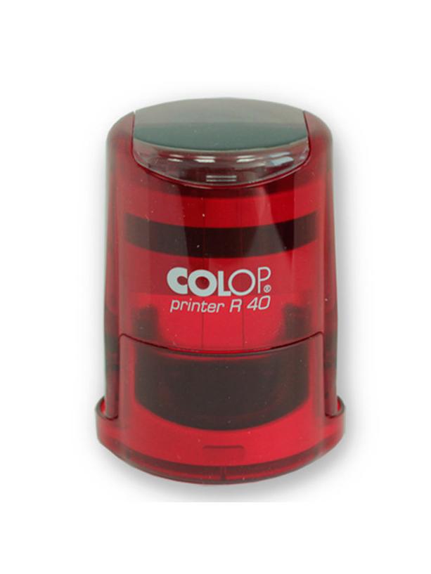 Colop Cover Printer R40 Ruby оснастка для печати с защитной крышкой (рубин) (АКЦИЯ)