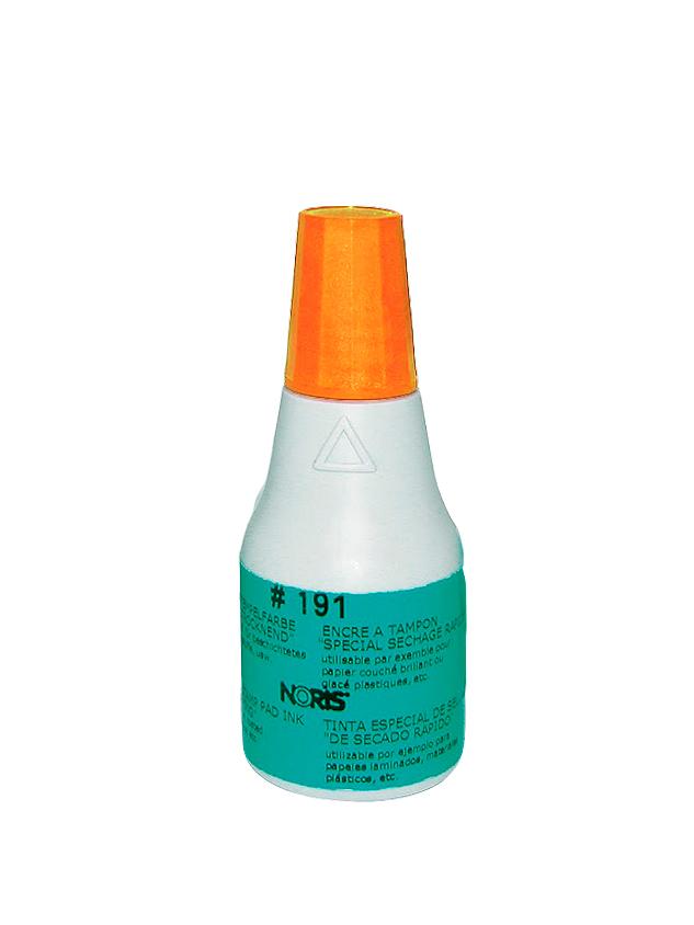 Colop 191 AW оранжевая краска, 50 мл (спиртовая основа)