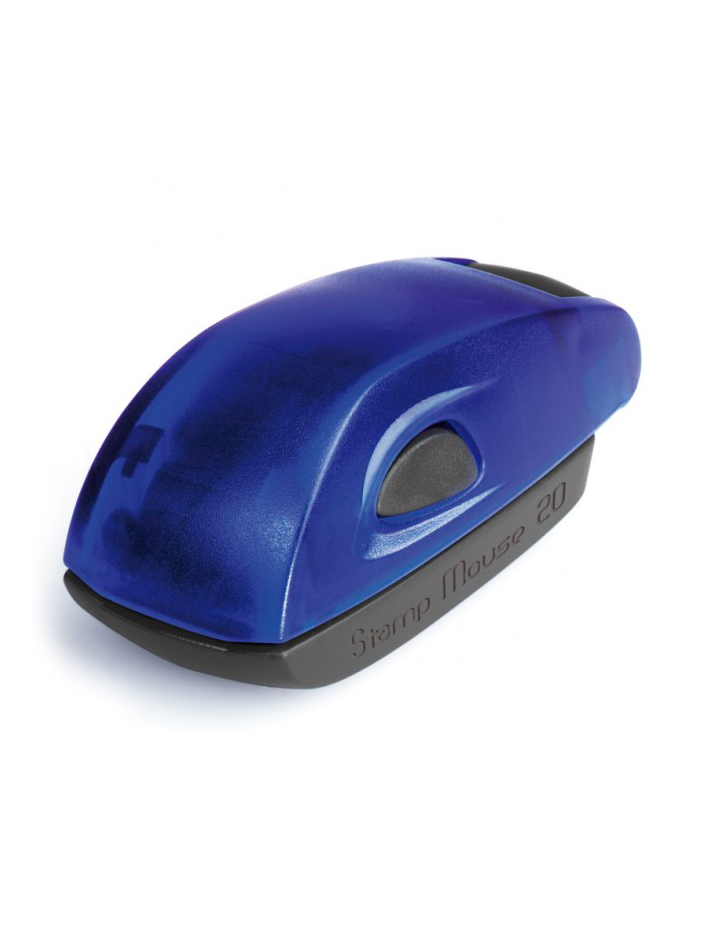 Colop Stamp Mouse 20 indigo (индиго) карманная оснастка для штампа мышка-штамп 14х38 мм