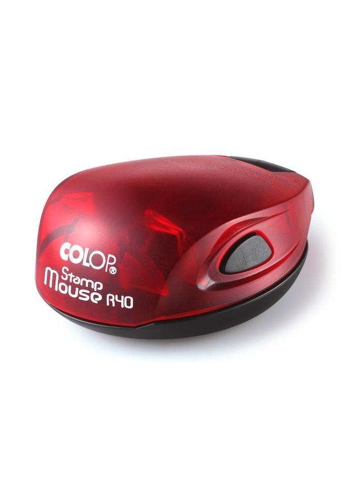 Colop Stamp Mouse R40 ruby (рубин) оснастка для печати D 40 мм (АКЦИЯ)