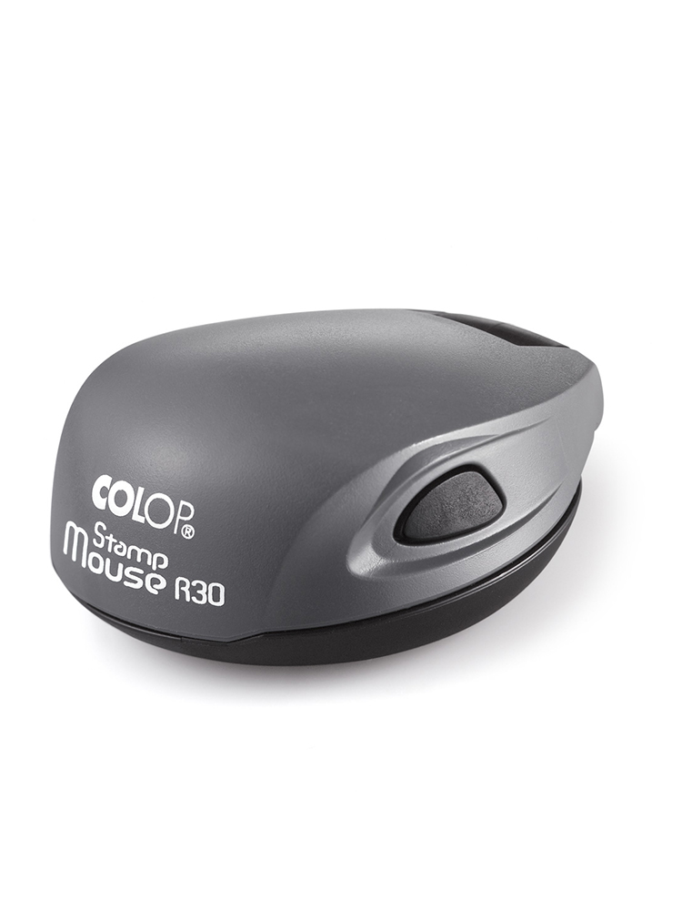 Colop Stamp Mouse R30 gray (серый) оснастка для печати D30 мм