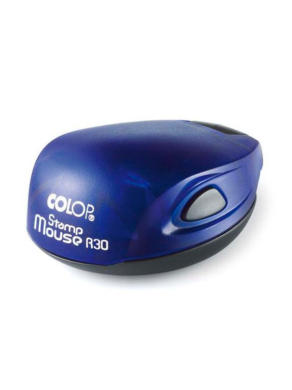 Colop Stamp Mouse R30 indigo (индиго) оснастка для печати D30 мм