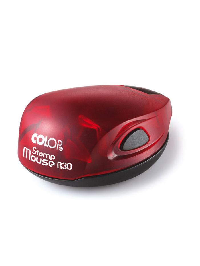Colop Stamp Mouse R30 ruby (рубин) оснастка для печати D 30 мм