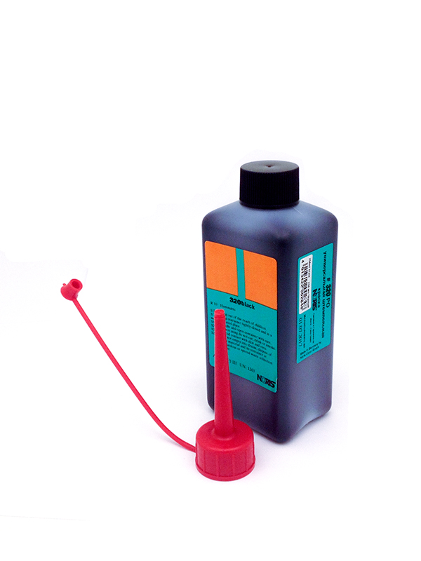 Colop 320 DS краска для хлопковых тканей на спиртовой основе 250 мл., (черная)