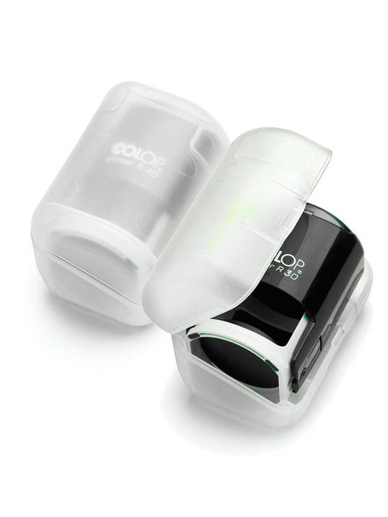 Colop Printer R30 Box Black  оснастка для круглой печати с боксом (черная).