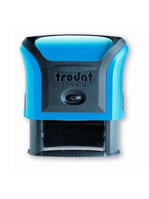 Trodat 4912 Р4 Автоматическая оснастка для штампа 47х18 мм, синий