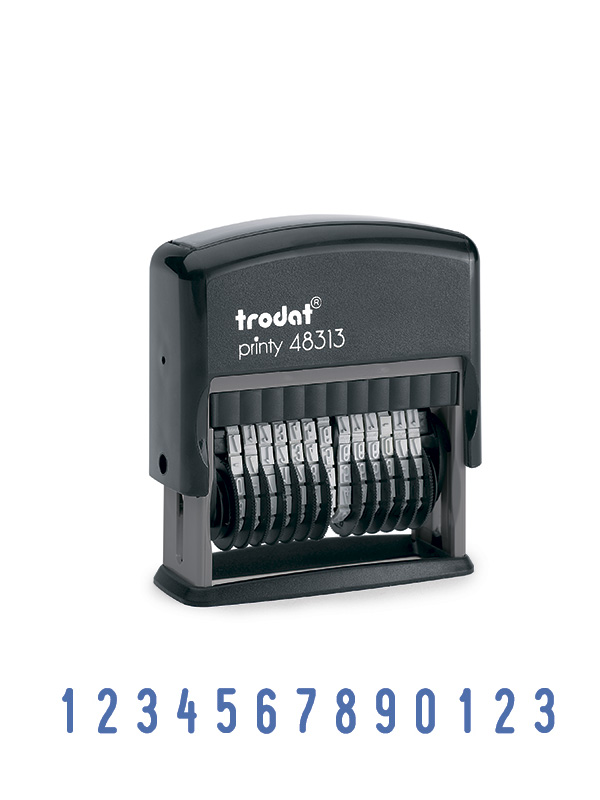 Trodat 48313 Мини-нумератор, 13 разрядный