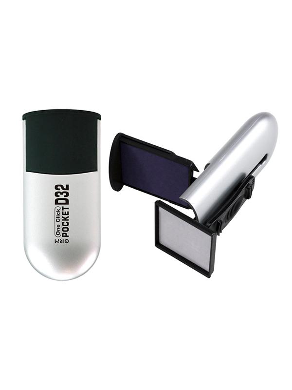 GRM Pocket R32 One Click 8 lines, оснастка карманная, 8 строк 32х32 мм.