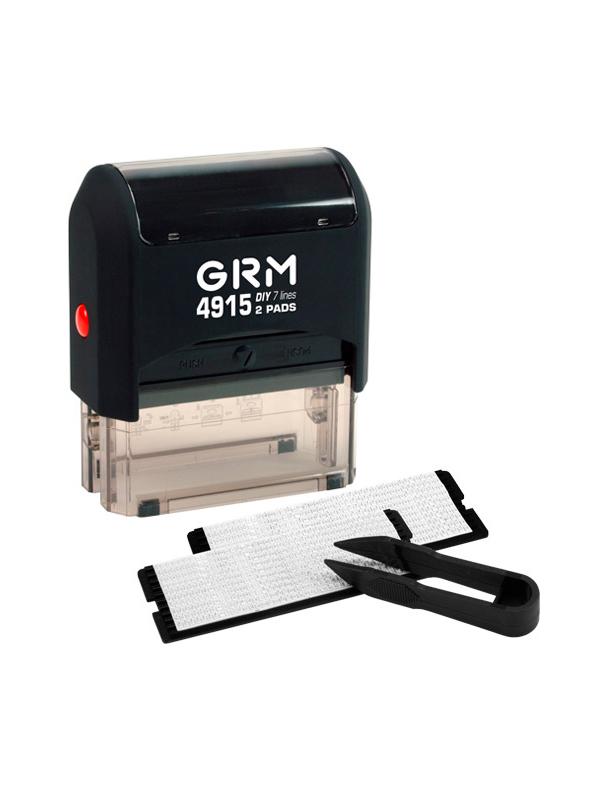 GRM 4915 2 Pads 7 строк оснастка для штампа 68х30 мм
