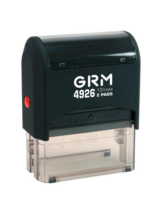 GRM 4926 (60) 2 Pads оснастка для штампа 78х40 мм 10 строк