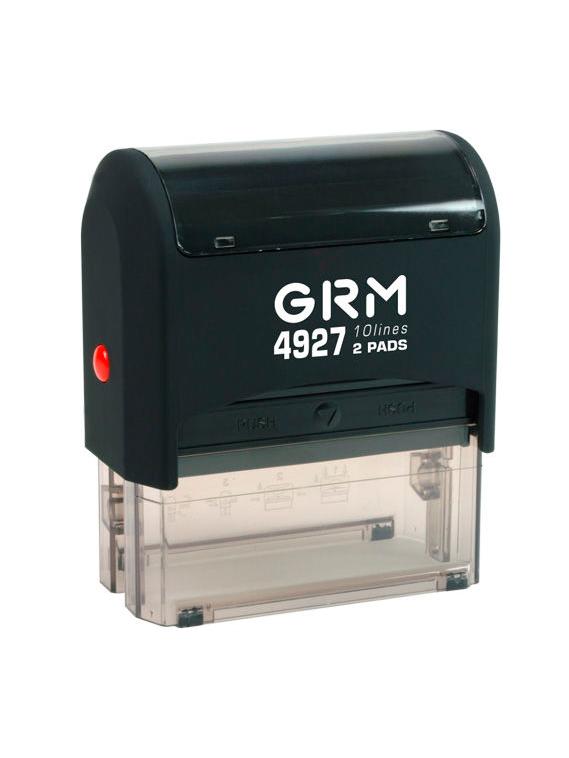 GRM 4927 2 Pads оснастка для штампа 60х40 мм 10 строк